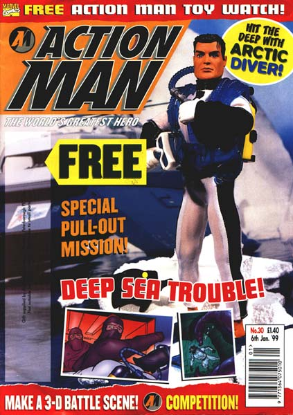 Action Man Comic #30