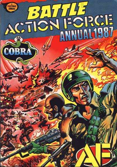 Battle Action Force Annual 1987