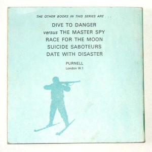 Action Man Arctic Mystery Back Cover