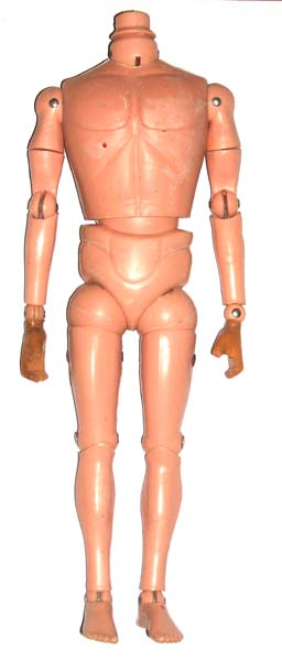 Action Man hybrid body with arms restored