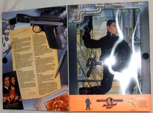 Action Man James Bond 007 Goldeneye Box Inner