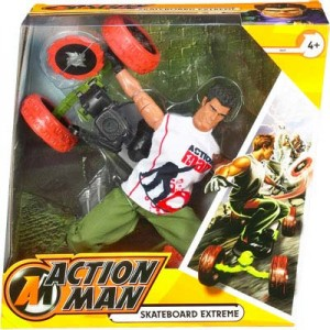 Action Man Skateboard Extreme Boxed