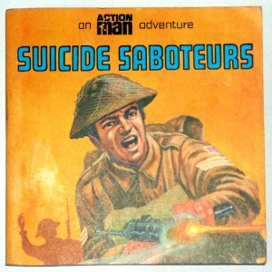 Action Man Suicide Saboteurs Front Cover