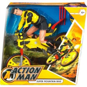 Action Man Super Mountain Bike Boxed