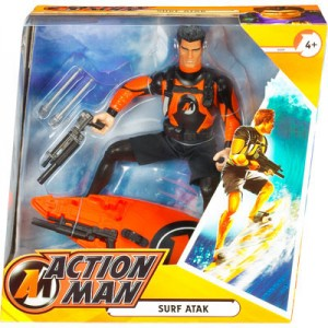 Action Man Surf Atak Boxed