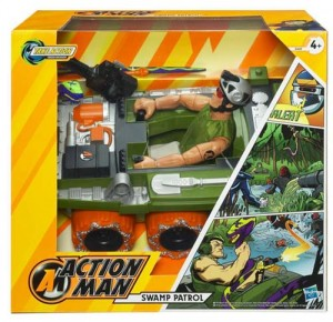 Action Man Swamp Patrol Boxed