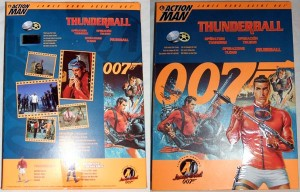Action Man James Bond 007 Thunderball Box Art