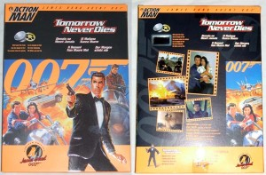 Action Man James Bond 007 Tomorrow Never Dies Box