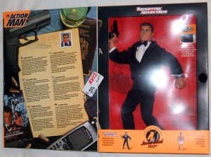 Action Man James Bond 007 Tomorrow Never Dies Box Inner