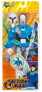 Action Man X Robot Ice Boxed