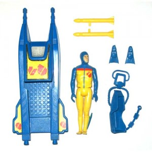 Action Force Q Force Stingray and Shark Contents