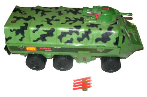 Action Force Z Force Armoured Troop Carrier