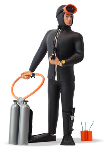 Action Man 50th Anniversary Scuba Diver