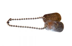 Action Man Dog Tags