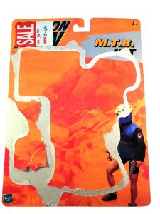 Action Man MTB Kit Backing Card