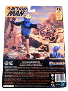 Action Man MTB Kit Backing Card Back