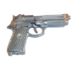 Action Man Silver Pistol