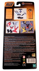 Action Man Polar Kit Card Back