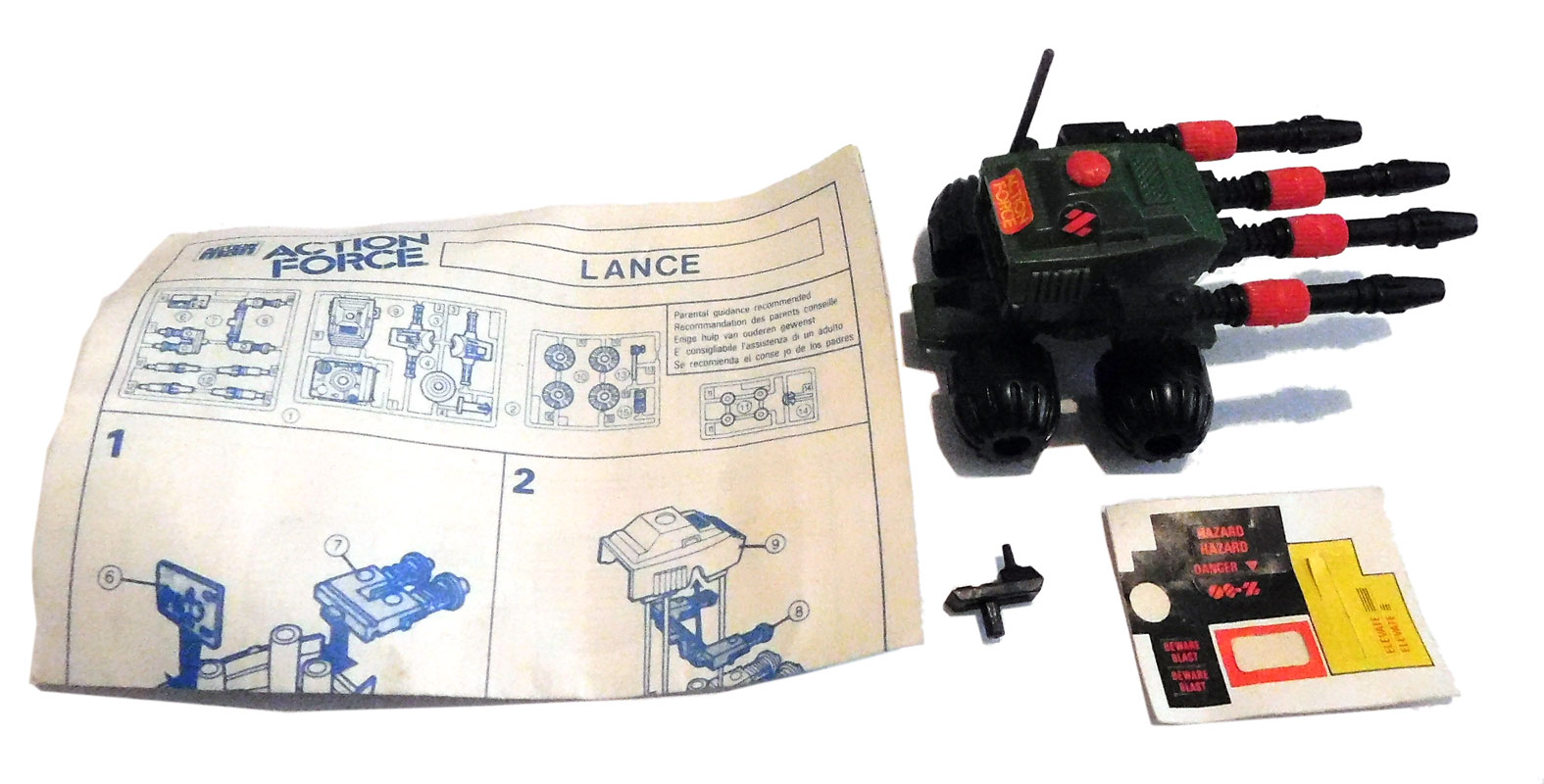 Action Force Z Force Lance