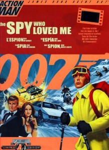 Action Man James Bond 007 The Spy Who Loved Me Box
