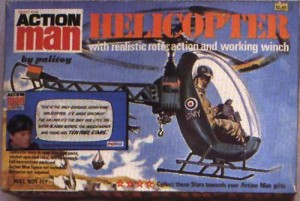 Action Man Helicopter 1974