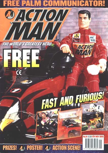 Action Man Comic 54