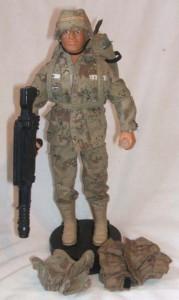 Vintage Action Man 40th loose allemand grenades X 2 Non Peinte Prototype Test Shot