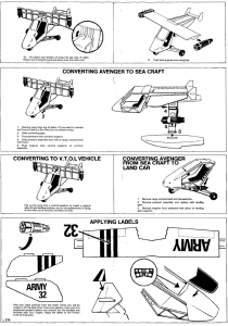 Action Man Pursuit Craft Instructions