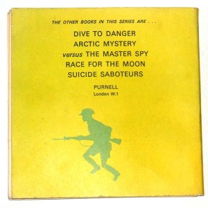 Action Man Date With Disaster Back Cover