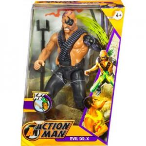 Action Man Evil Dr. X Boxed Figure