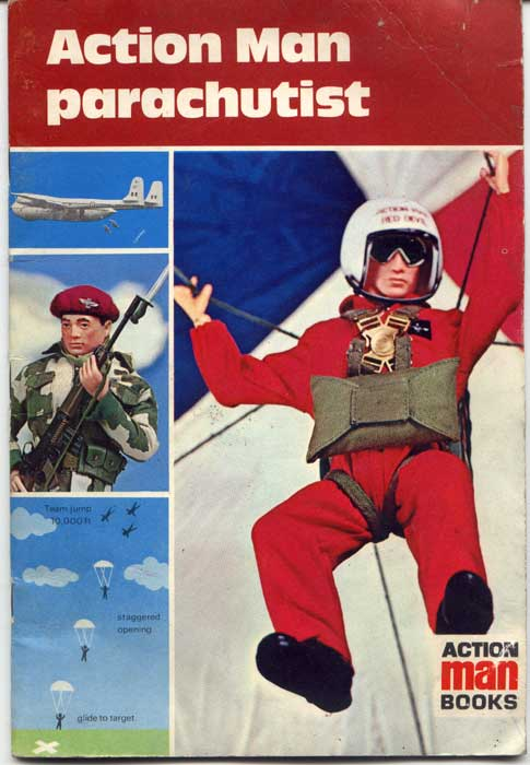 Action Man Parachutist Book