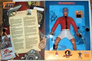 Action Man James Bond 007 Thunderball Inside