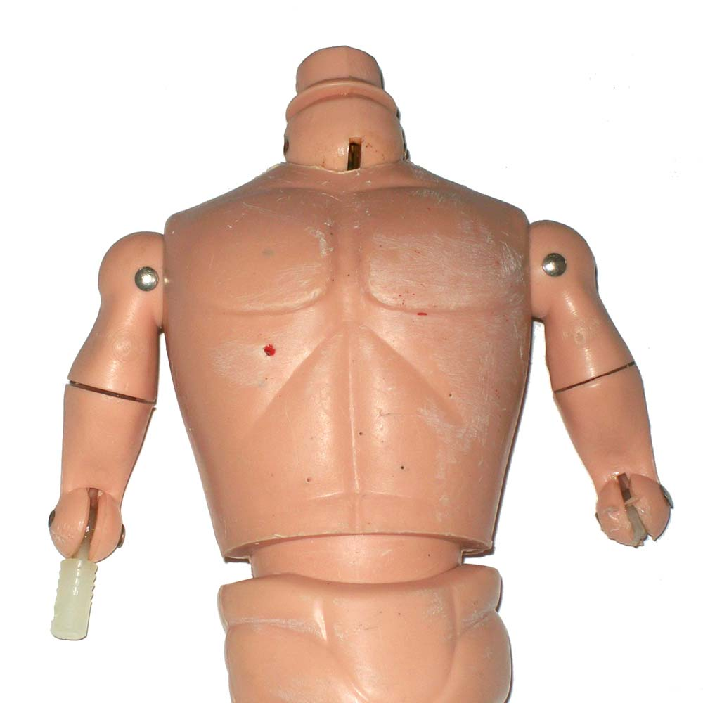Action Man torso damage and scratches