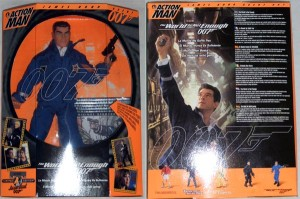 Action Man James Bond 007 The World Is Not Enough Box