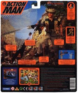 Action Man Net Trapper Back Card Art