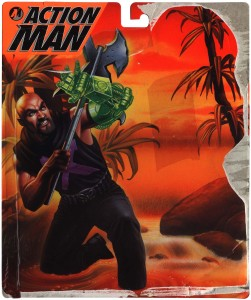 Action Man Net Trapper Front Card Art
