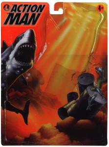 Action Man Sub Aqua Front Card Art