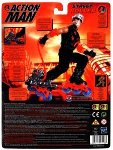 Action Man Street Roller Card Art (Back)