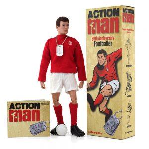 Action Man 50th Anniversary Footballer