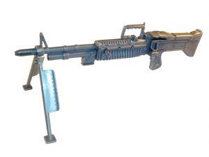 Action Man Night Creeper Accessory Set Machine Gun