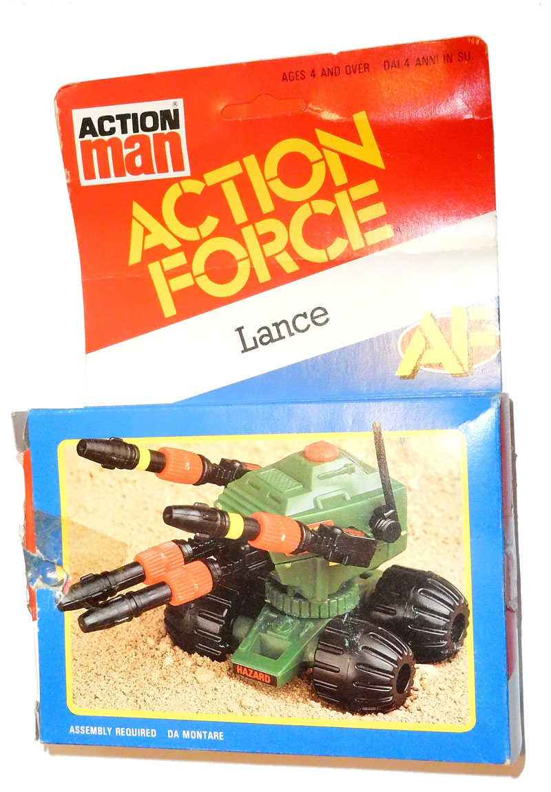Action Force Z Force Lance Box
