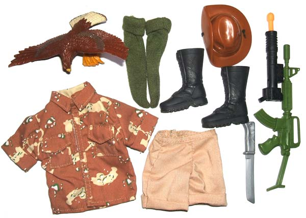 Action Man Aussie Outback Accessory Set
