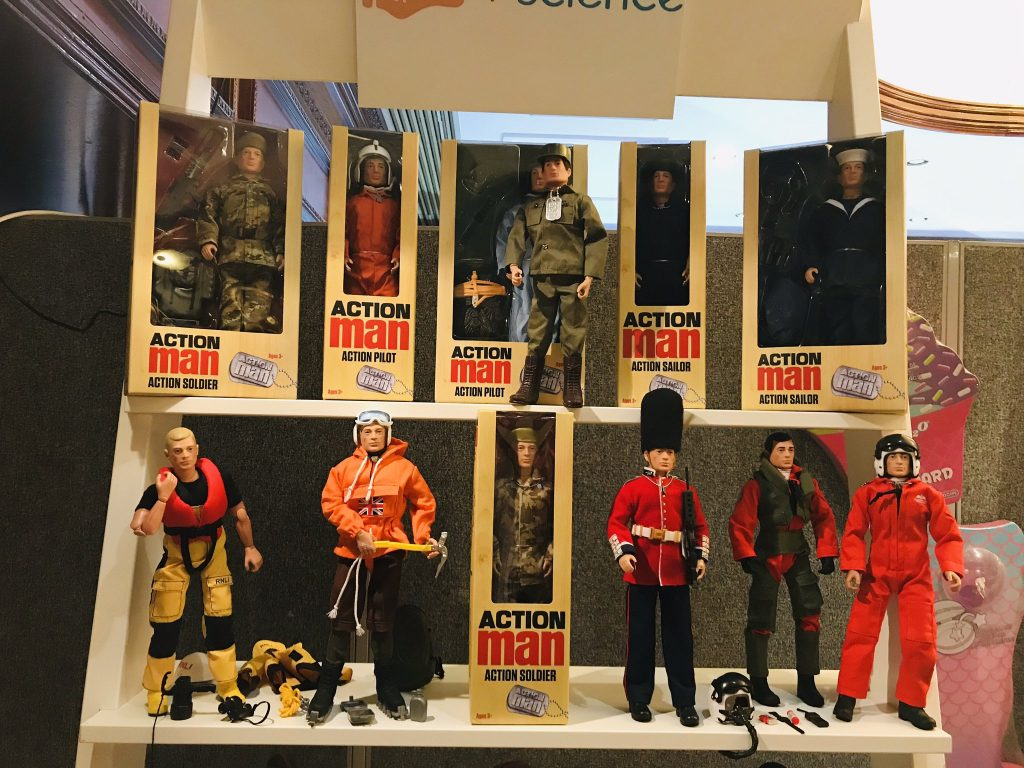 Action Man Collectors Range at Distoy.