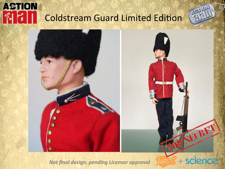 Action Man 50th Anniversary Coldstream Guards Action Figure